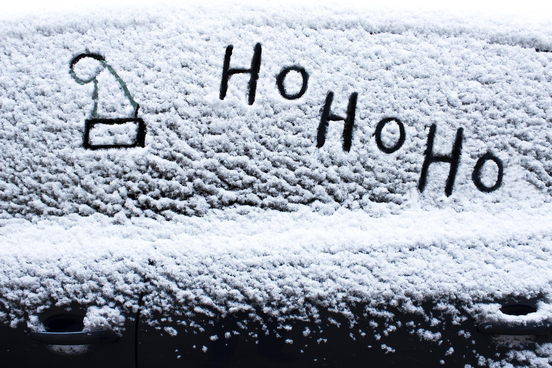 śnieg na szybkie auta